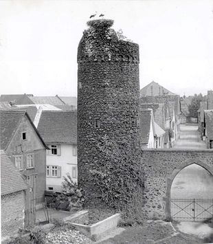 Rhm Storchenturm in 1956.jpg